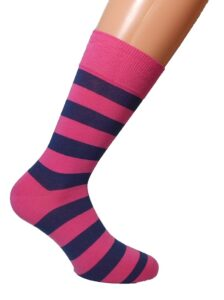 casual socks with Stripes pattern