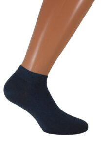 mens short socks anthracite